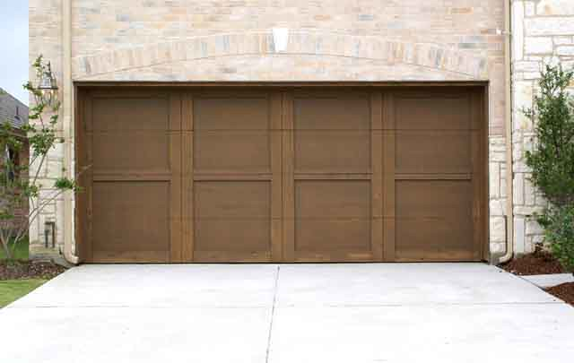 Custom Wood Trim Door