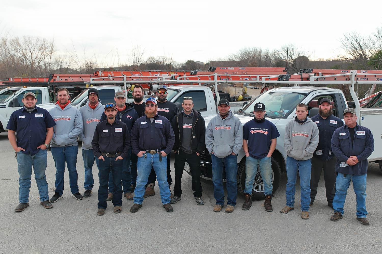 DFW's Overhead Door Group Staff